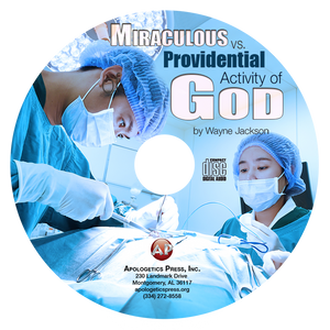 Miraculous vs. Providential Activity of God (CD)