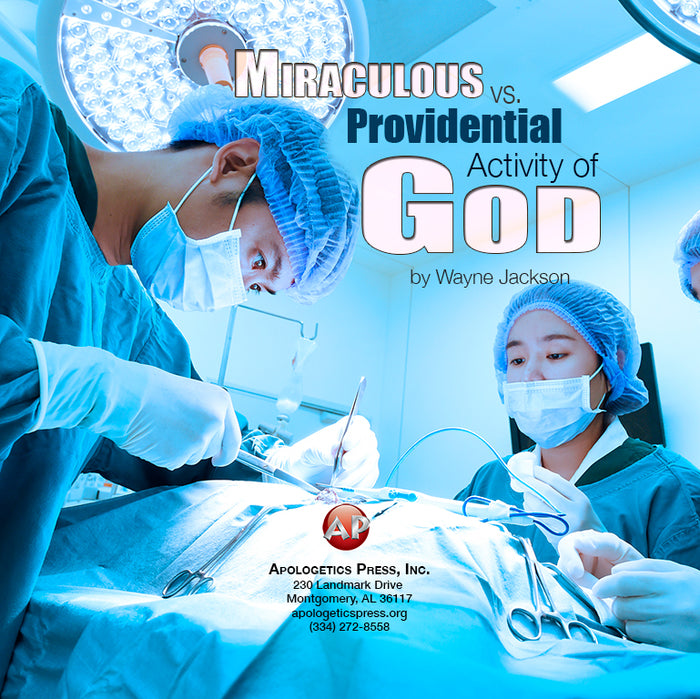 Miraculous vs. Providential Activity of God [Audio Download]