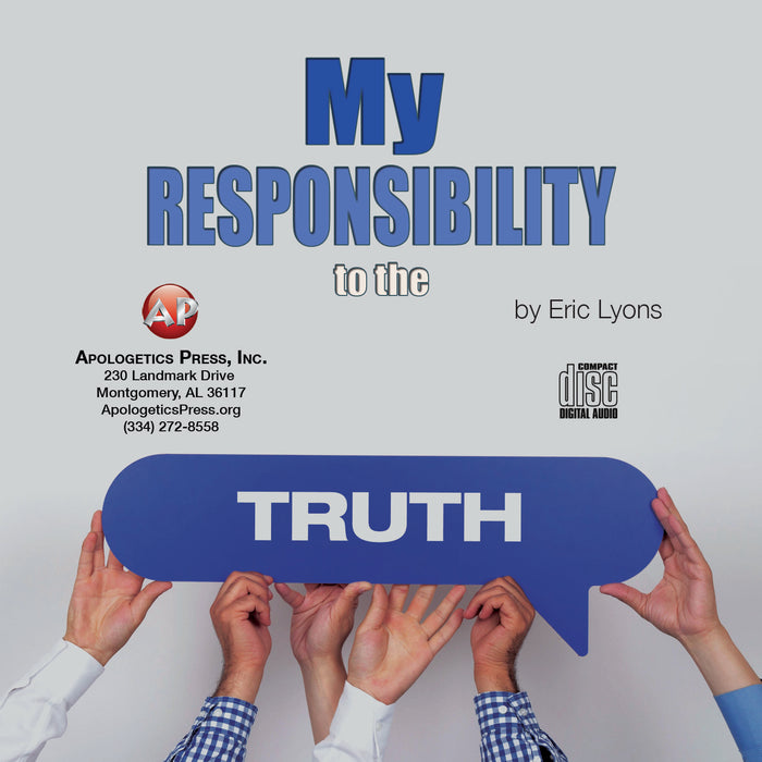 My Responsibility to Truth [Audio Download]