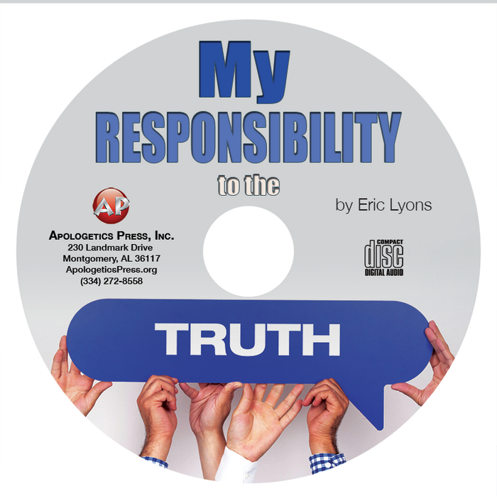 My Responsibility to the Truth (CD)