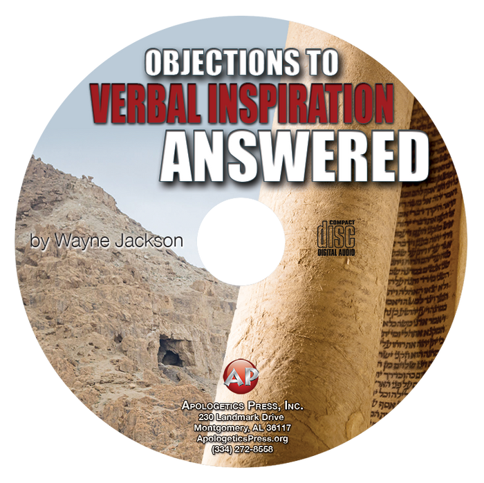 Objections to Verbal Inspiration Answered (CD)