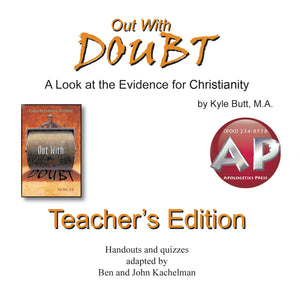Out With Doubt—Teacher's Edition CD Rom