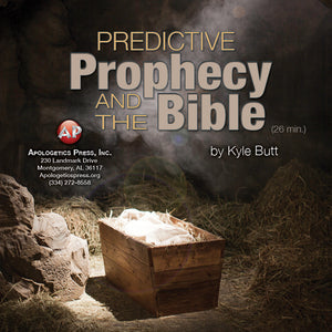 Predictive Prophecy and the Bible [Audio Download]