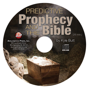 Predictive Prophecy and the Bible (CD)