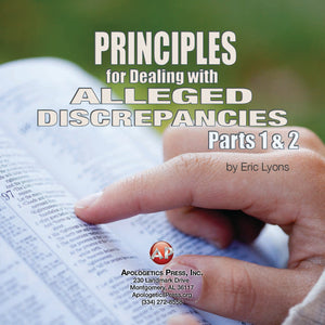Principles for Dealing with Alleged Discrepancies Part 1 [Audio Download]