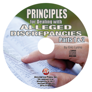Principles for Dealing with Alleged Discrepancies (Parts 1 & 2) (CD)