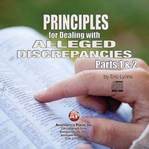 Principles for Dealing with Alleged Discrepancies Part 2 [Audio Download]