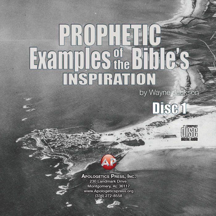 Prophetic Examples of the Bible's Inspiration [Audio Download]