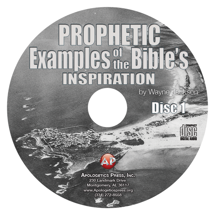Prophetic Examples of the Bible's Inspiration (2 CDs)