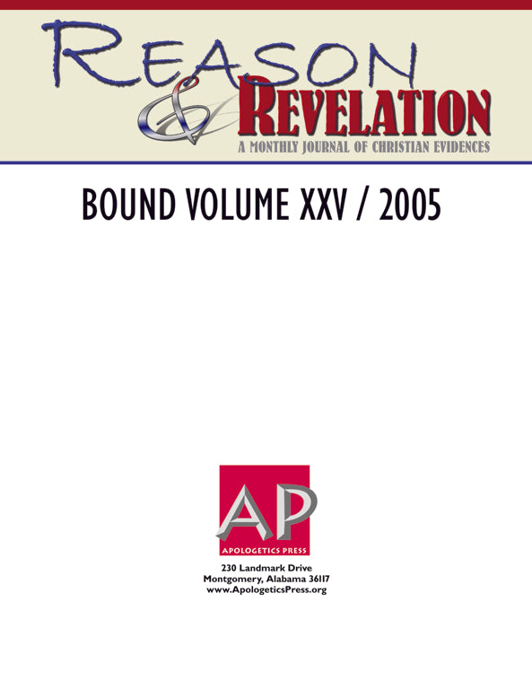 Reason & Revelation Bound Volume 2005