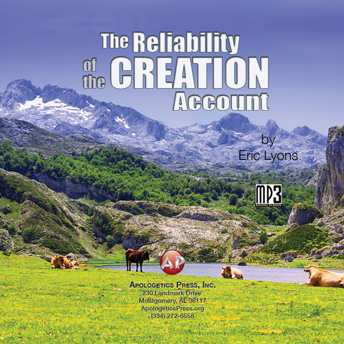 Reliability of the Creation Account [Audio Download]