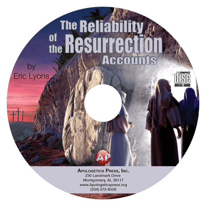 Reliability of the Resurrection Accounts (CD)