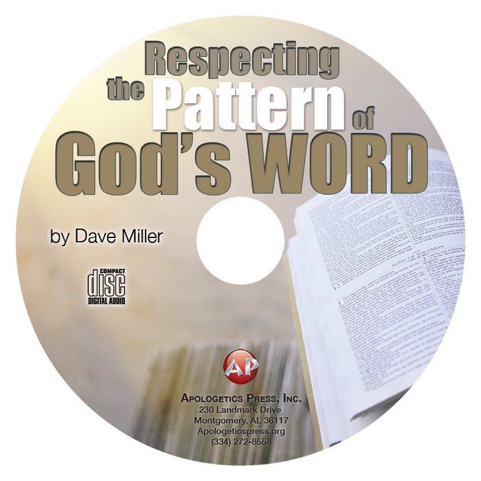 Respecting the Pattern of God's Word (CD)