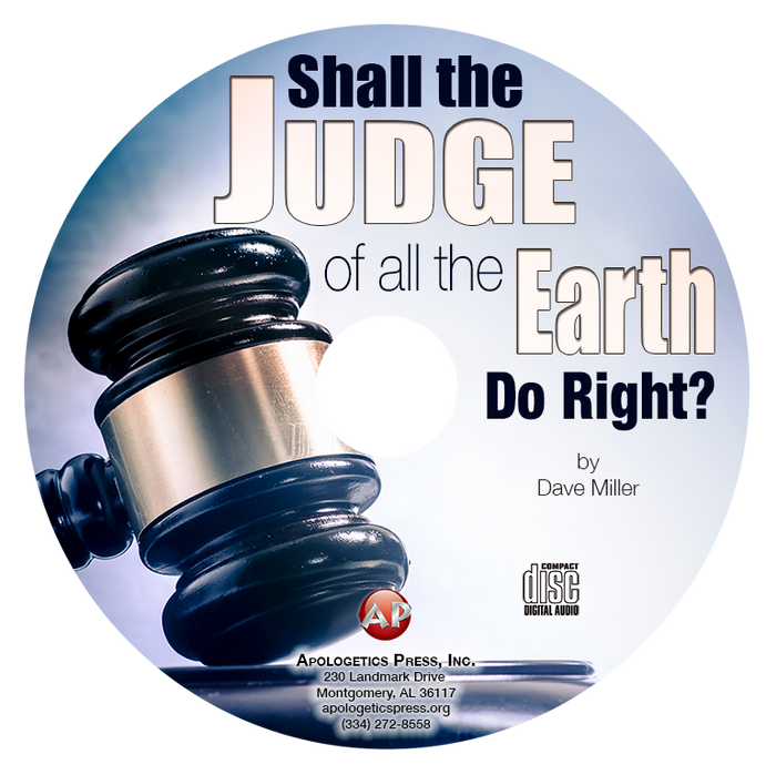 Shall the Judge of All the Earth Do Right?—DM