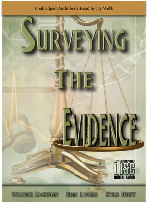Surveying the Evidence (Audio Book, 5-CD set)