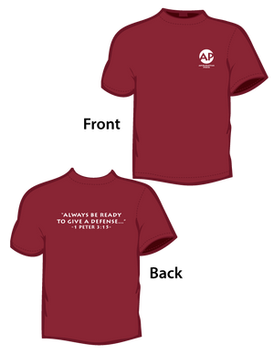 Always Be Ready (T-Shirt) Cardinal