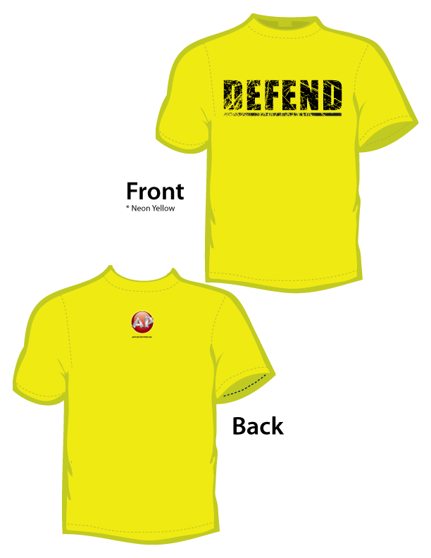 Defend the Faith (T-Shirt) Neon