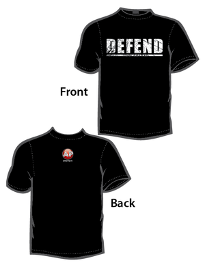 Defend the Faith (T-Shirt) Black