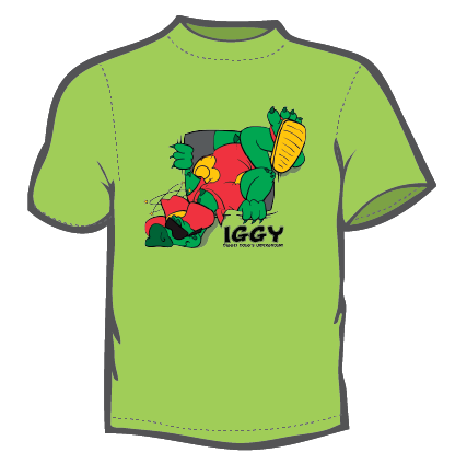 Iggy (Youth T-Shirt) Green
