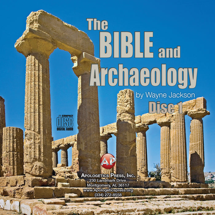 Bible and Archaeology-Part 1 [Audio Download]