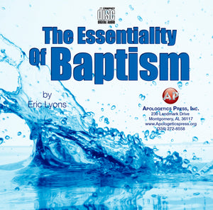 Essentiality of Baptism [Audio Download]