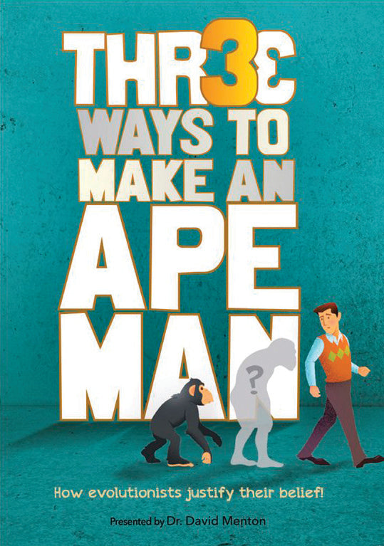 Three Ways to Make an Ape Man - DVD