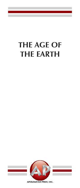 Age of the Earth, The