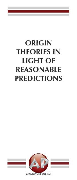 Origin Theories in Light of Reasonable Predictions