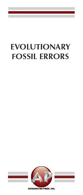 Evolutionary Fossil Errors