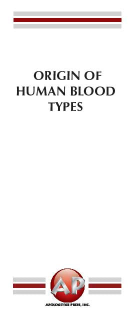 Origin of Human Blood Types