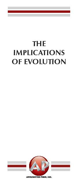 Implications of Evolution, The