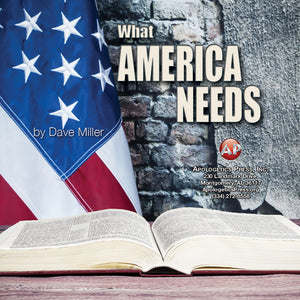 What America Needs-DM [Audio Download]