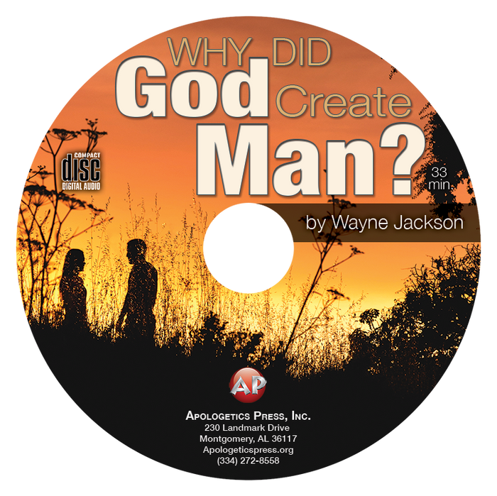 Why Did God Create Man? (CD)