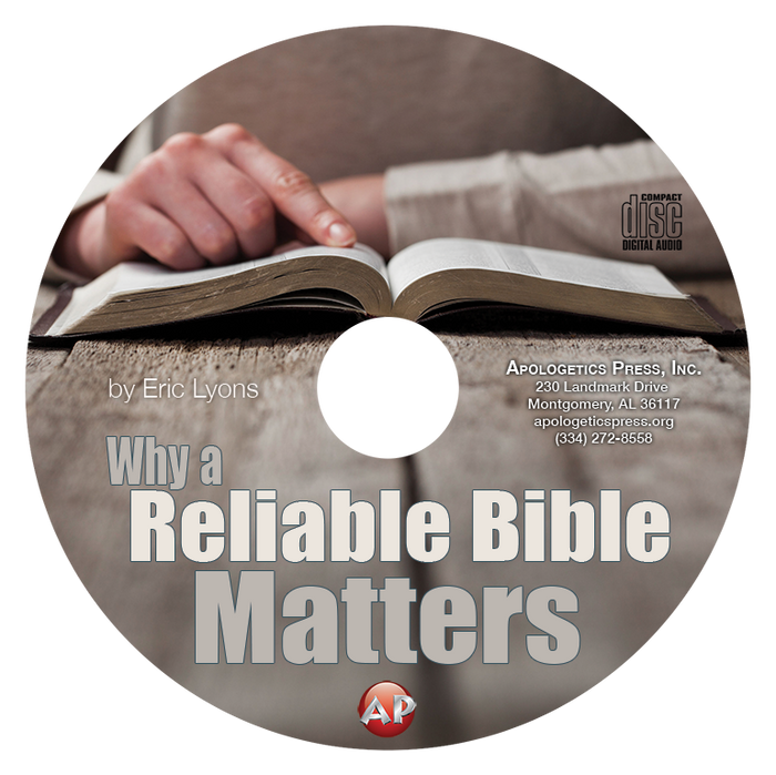 Why a Reliable Bible Matters—EL