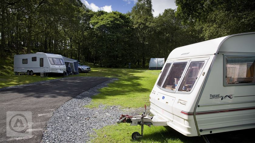 Camping Ideas ~ Coppice Caravan Club Site - Conistone (Lake District)
