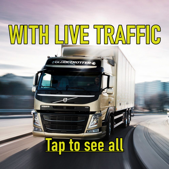 Truck Sat Navs With Live  Traffic
