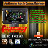 "7"" CMNAV ADVANCED Camper (256 RAM) - 2020 EU + UK Maps and Premium POIs - C & M Navigation Systems"