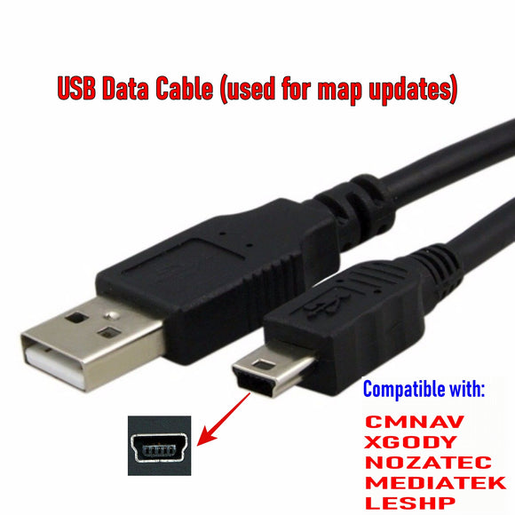 USB Data Cable for Data Transfer Use ONLY (Not for charging!) - C & M Navigation Systems