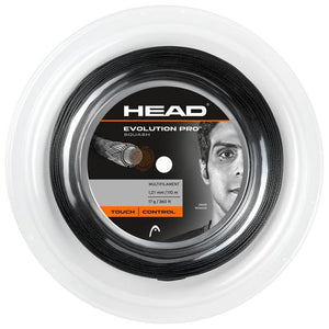 Head Evolution Pro Squash String Black