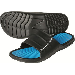 AQFWAV0130142 Aqua Sphere Mens Wave Pool Shoe - Black + Blue