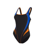 AQSWLIT1270140 Aqua Sphere Lita Ladies Swimsuit - Black Blue