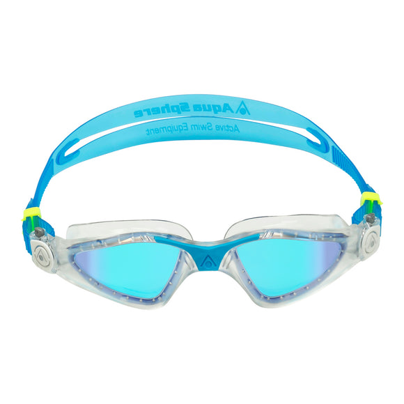 AquaSphere Kayenne Adult Goggle Mirror Transparent Turquoise