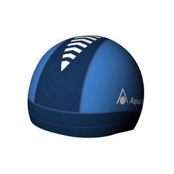AquaSphere Skull Swim Cap White Blue