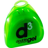 d3 Junior Double Gel Mouthguard - Green-White (6pk)