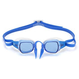 MP Chronos Goggle Blue Lens - White