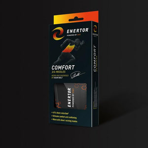 Enertor Comfort 3/4 Length Insoles Large (10-14)