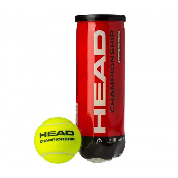 Head Championship Novak Tennis Ball x 3 Ball Can