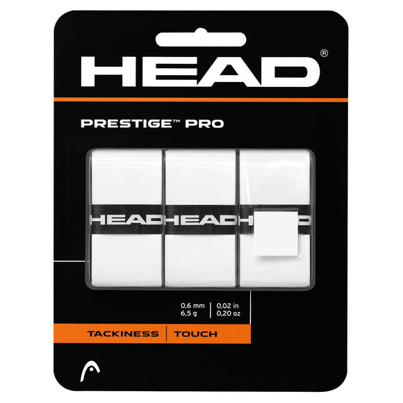 Head Prestige Pro Overgrip White