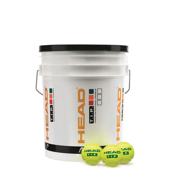 HEAD TIP Training Tennis Ball Bucket