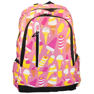 Highland Ice Cream Backpack Pink
